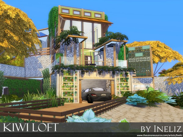 The Sims Resource: Kiwi Loft by Ineliz