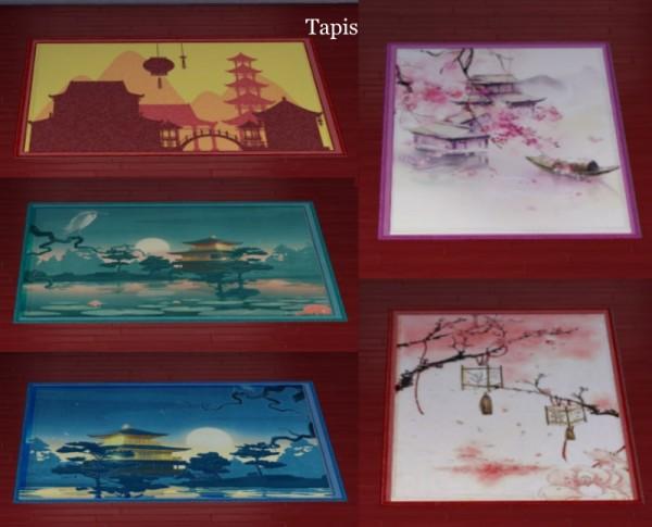 Sims Artists: Fleurs de cerisiers Bedroom