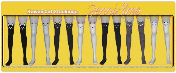 Jenni Sims: Kawaii Cat Stockings