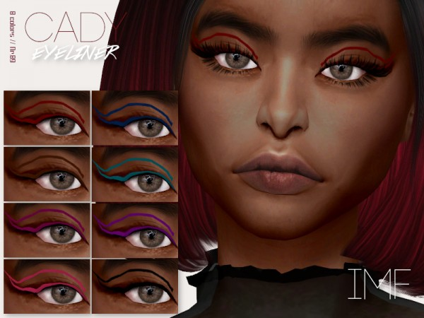 The Sims Resource: Cady Eyeliner N.89 by IzzieMcFire