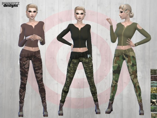 The Sims Resource: Apocalyptic Doomwear by Pinkfizzzzz