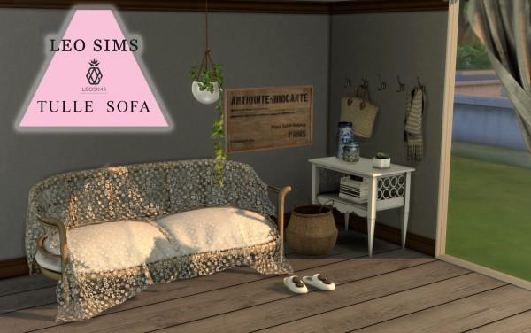 Leo 4 Sims: Tulle Sofa