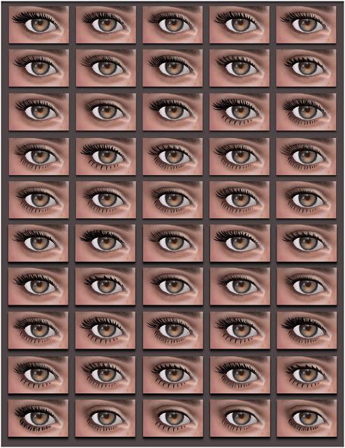All by Glaza: Eyelashes 07