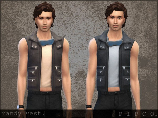The Sims Resource: Randy vest by Pipco