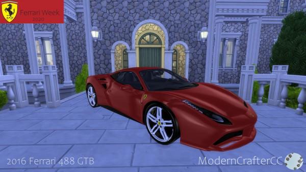 Modern Crafter: 2016 Ferrari 488 GTB