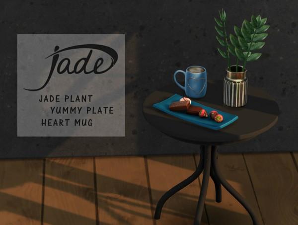 Leo 4 Sims: Jade Plant and Mugs