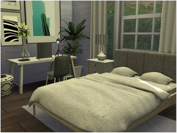 The Sims Resource: Tiny Simple Family House by lotsbymanal