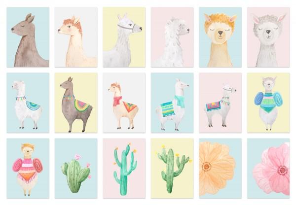 Simplistic: Llama Kids Set