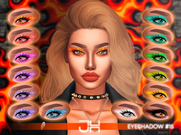 The Sims Resource: Eyeliner 16 by Jul Haos