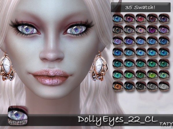 The Sims Resource: Dolly Eyes 22 by Taty