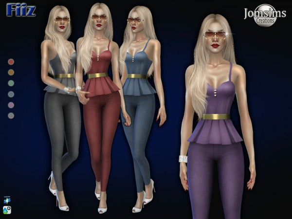 The Sims Resource: Fiiz outfit by jomsims