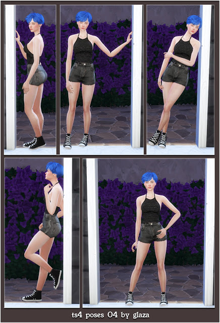 All by Glaza: Poses 04