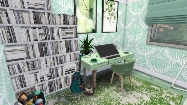 Models Sims 4: Little Green House