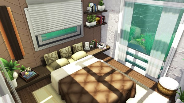 Aveline Sims: Underwater Tiny House