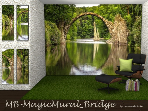 The Sims Resource: Magic Mural Bridge by matomibotaki