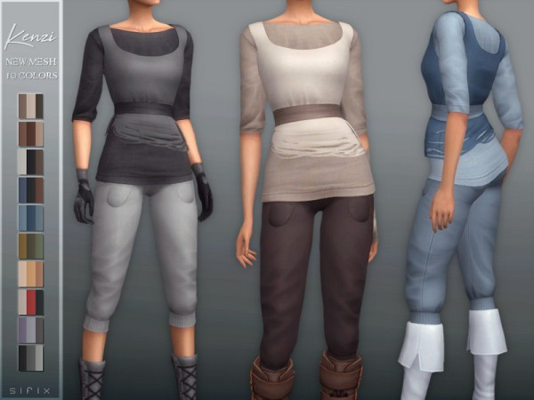 The Sims Resource: Kenzi Outfit by Sifix