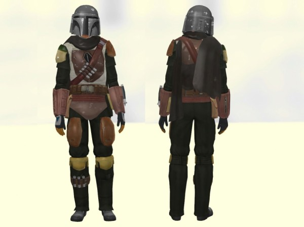Sims Artists: The Mandalorian