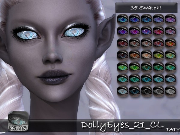 The Sims Resource: Dolly Eyes 21 by Taty