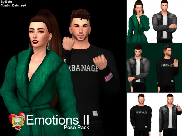 The Sims Resource: Emotions II   Pose pack by Beto ae0