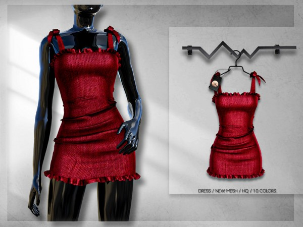 The Sims Resource: Dress BD243 by busra tr