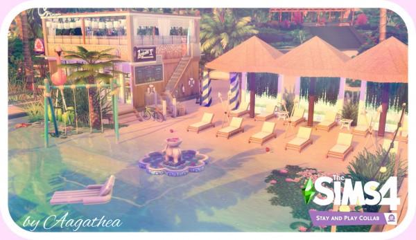 Agathea k: Pink Flamingo Beach