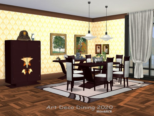 The Sims Resource: Dining Art Deco 2020 by lillka