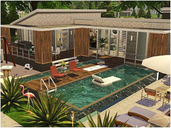 The Sims Resource: Modern Family House by lotsbymanal