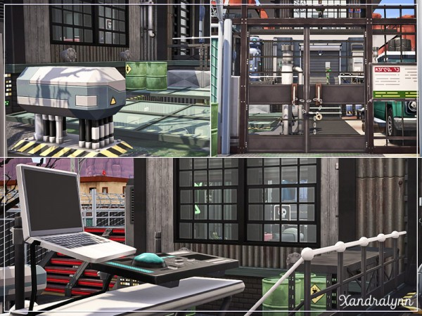 The Sims Resource: Biozard House by Xandralynn
