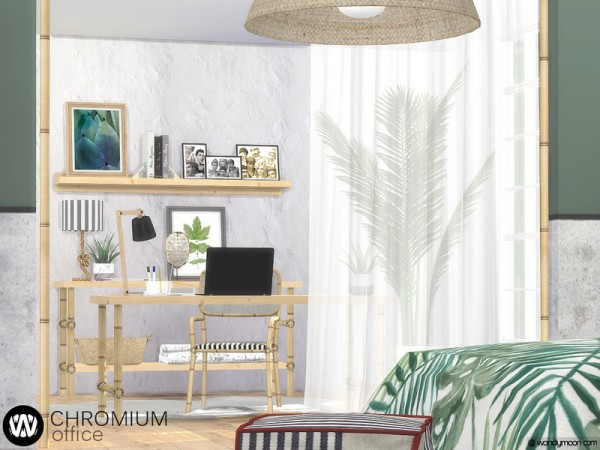 The Sims Resource: Chromium Office by wondymoon