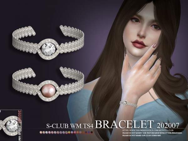 The Sims Resource: Bracelet 202007 by S Club