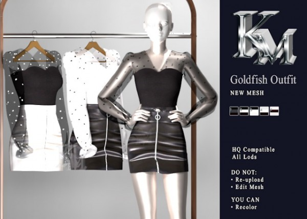 KM: Goldfish Outfit