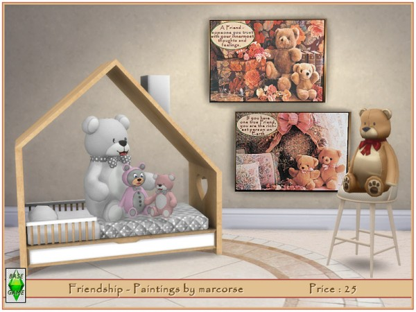 The Sims Resource: Friendship   Paintings by marcorse