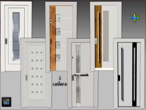 Arte Della Vita Front Doors Sims 4 Downloads