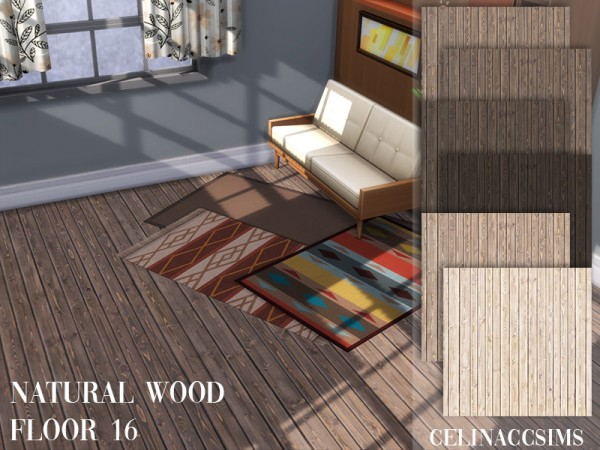 The Sims Resource: Natural wood floor 16 by celinaccsims