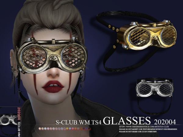 The Sims Resource: Glasses 202004 by S Club