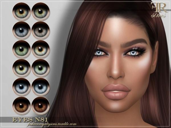 The Sims Resource: Eyes N81 by FashionRoyaltySims