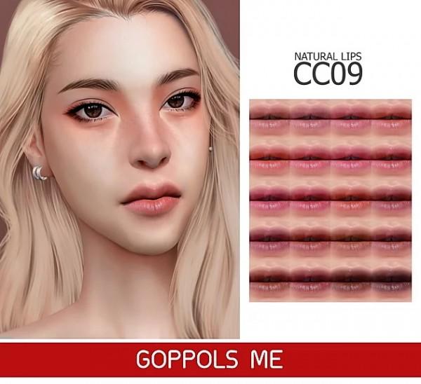 GOPPOLS Me: Natural Lips CC9