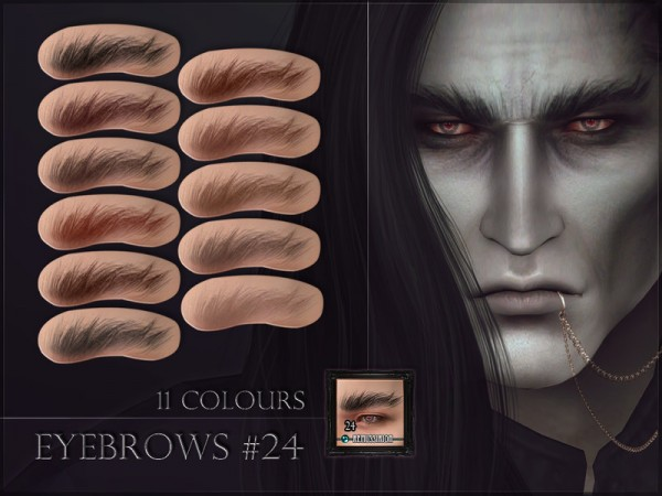 The Sims Resource: Eyebrows 24 by RemusSirion