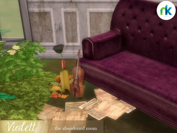 The Sims Resource: Violett Room by Nikadema