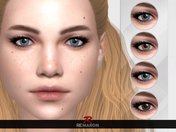 The Sims Resource: Realistic Eye N08   All ages by remaron