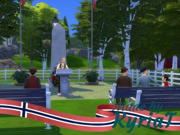 KyriaTs Sims 4 World: The Schools Park