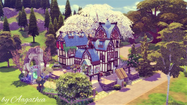 Agathea k: House of Elves' Knowledge Library