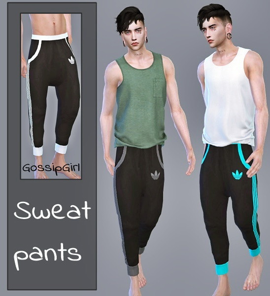 The Sims Resource: Sweatpants by GossipGirl S4