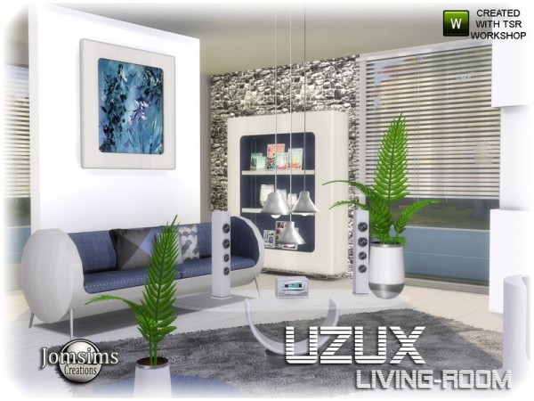 The Sims Resource: Uzux livingroom by jomsims