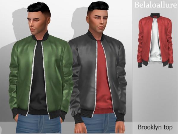 The Sims Resource: Belaloallure Brooklyn top by belal1997