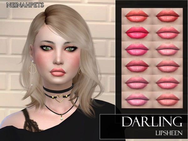 The Sims Resource: Darling   Lipsheen by neinahpets