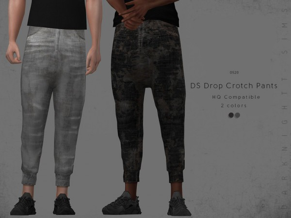 The Sims Resource: Drop Crotch Pants by DarkNighTt