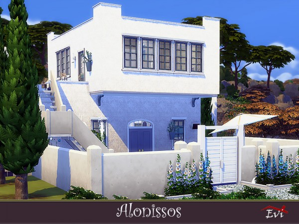 The Sims Resource: Alonissos House by Evi