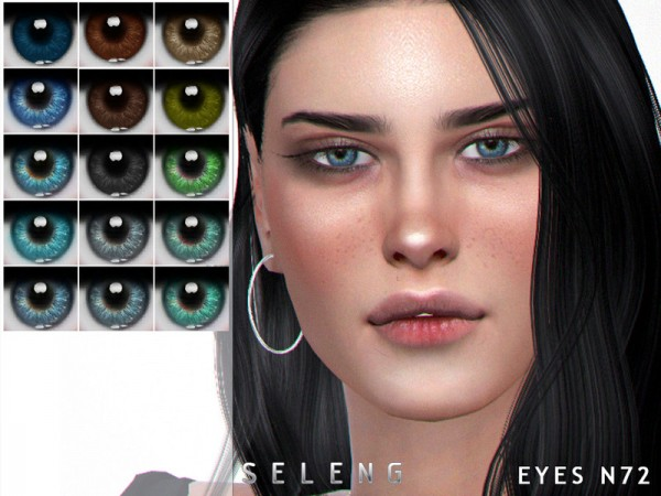 The Sims Resource: Eyes N72 by Seleng