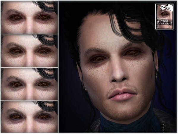 The Sims Resource: Eyeshadow 02 Witcher by BAkalia